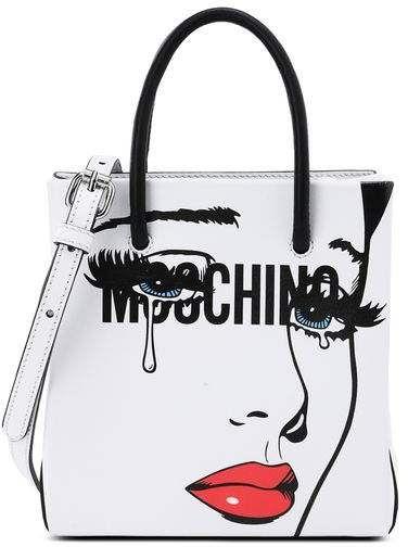 2a46d5afaf Moschino OFFICIAL STORE Handbag White Shoulder Bags