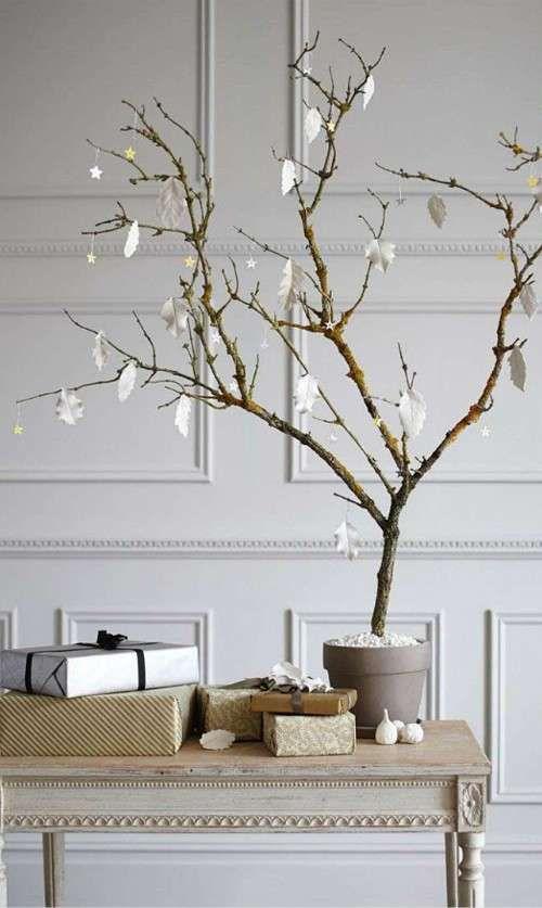 image result for alberi di natale con rami secchi joulu