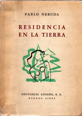 Residencia En La Tierra P N Pablo Neruda Neruda Libros