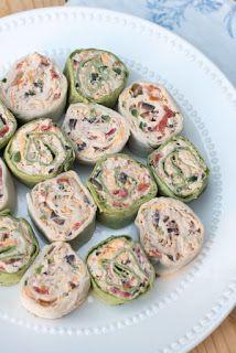 Enormous Recipes: Southwest Chicken Tortilla Pinwheels