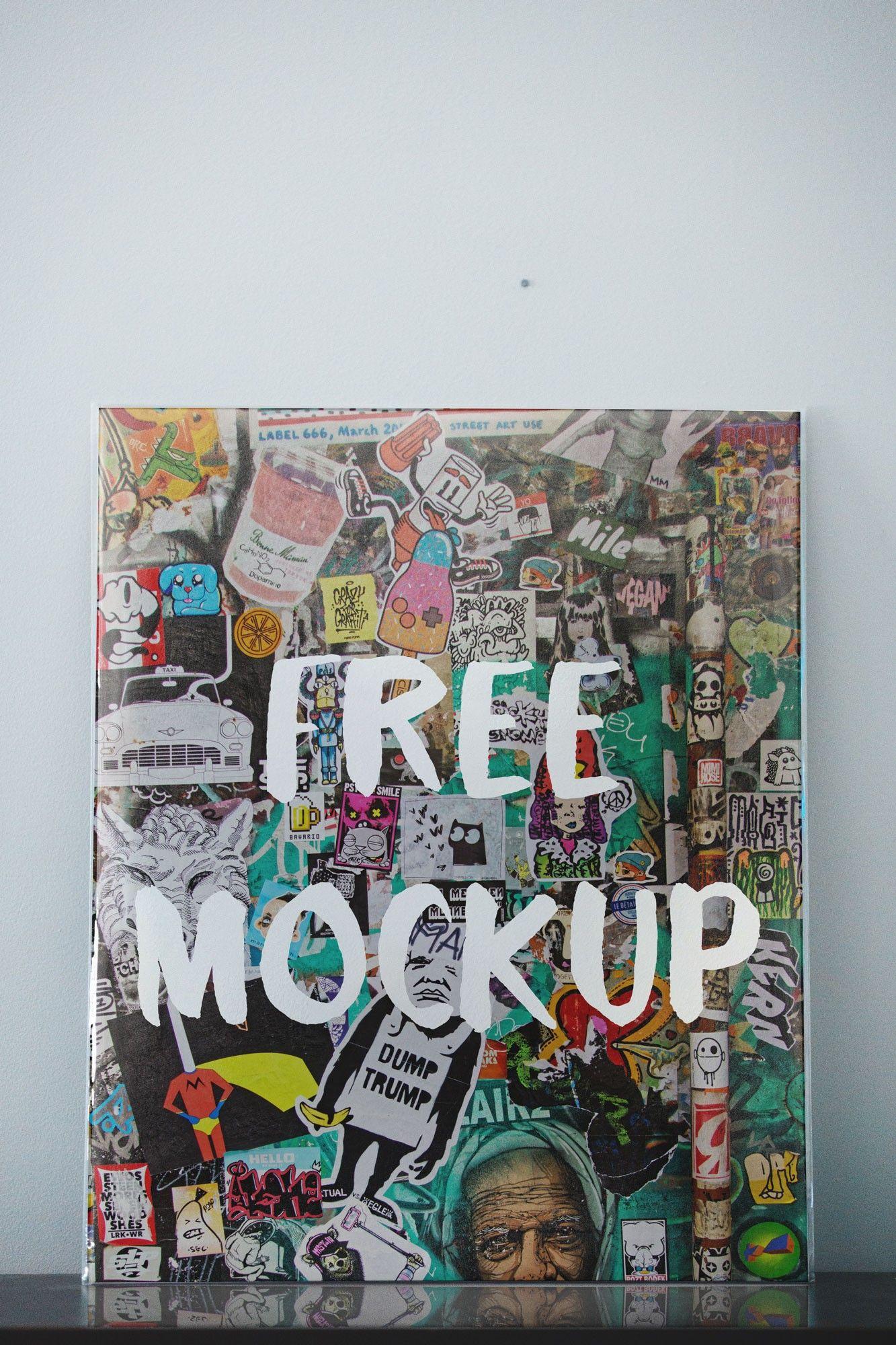 Vertical Poster Free Psd Mockup Poster Mockup Poster Mockup Free Mockup Free Psd