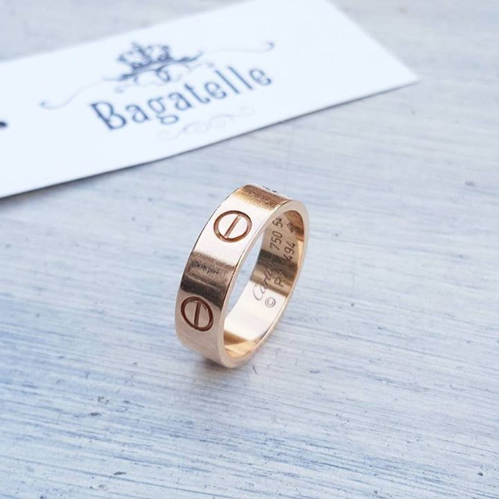 Cartier Rose Gold Love Ring Size 54 Excellent Condition Aed 3 900 Shop More Cartier At Www Bagatelleboutique Com We Ship Cartier Gold Love Ring Cartier Love