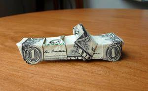 Photo of Dollar Origami Dragon Boat v2 von craigfoldsfives auf DeviantArt-    Dollar Orig…