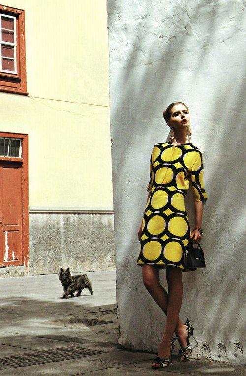 Ernesta Petkeviciute by Marianna Sanvito for Elle Russia