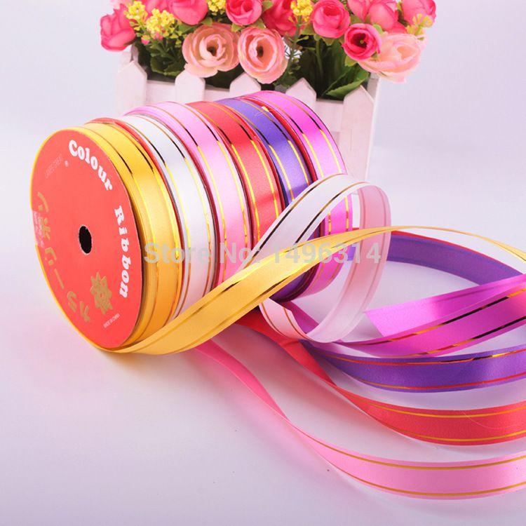 1 5 Cm 10 M Multicolore De Mariage Valentine Anniversaire Baby Shower Parti Voiture Decor Bricolage Emballage Cadeau Emballage Cadeau Diy Accessoire De Fete