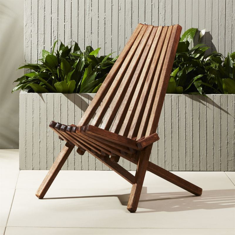 Shop Maya Wood Outdoor Chair. Handmade By A Family In A Small Mexican  Workshop,