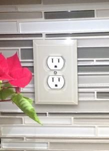Glass Paintable Outlet Covers