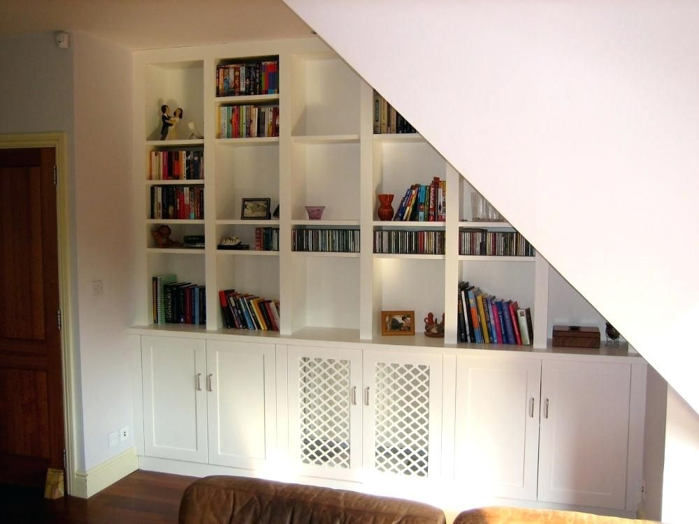 Bookcase Plans Under Stairs House Creativehow To Build Stair
