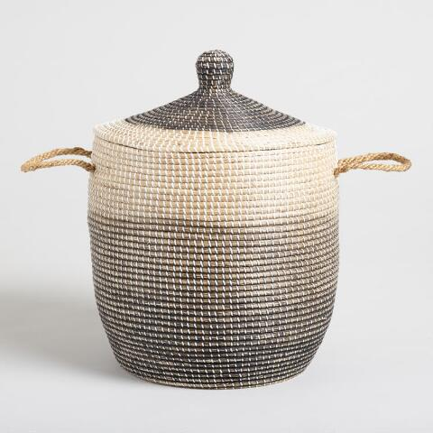 Extraordinary Wicker Laundry Basket With Lid Rattan From Rockett
