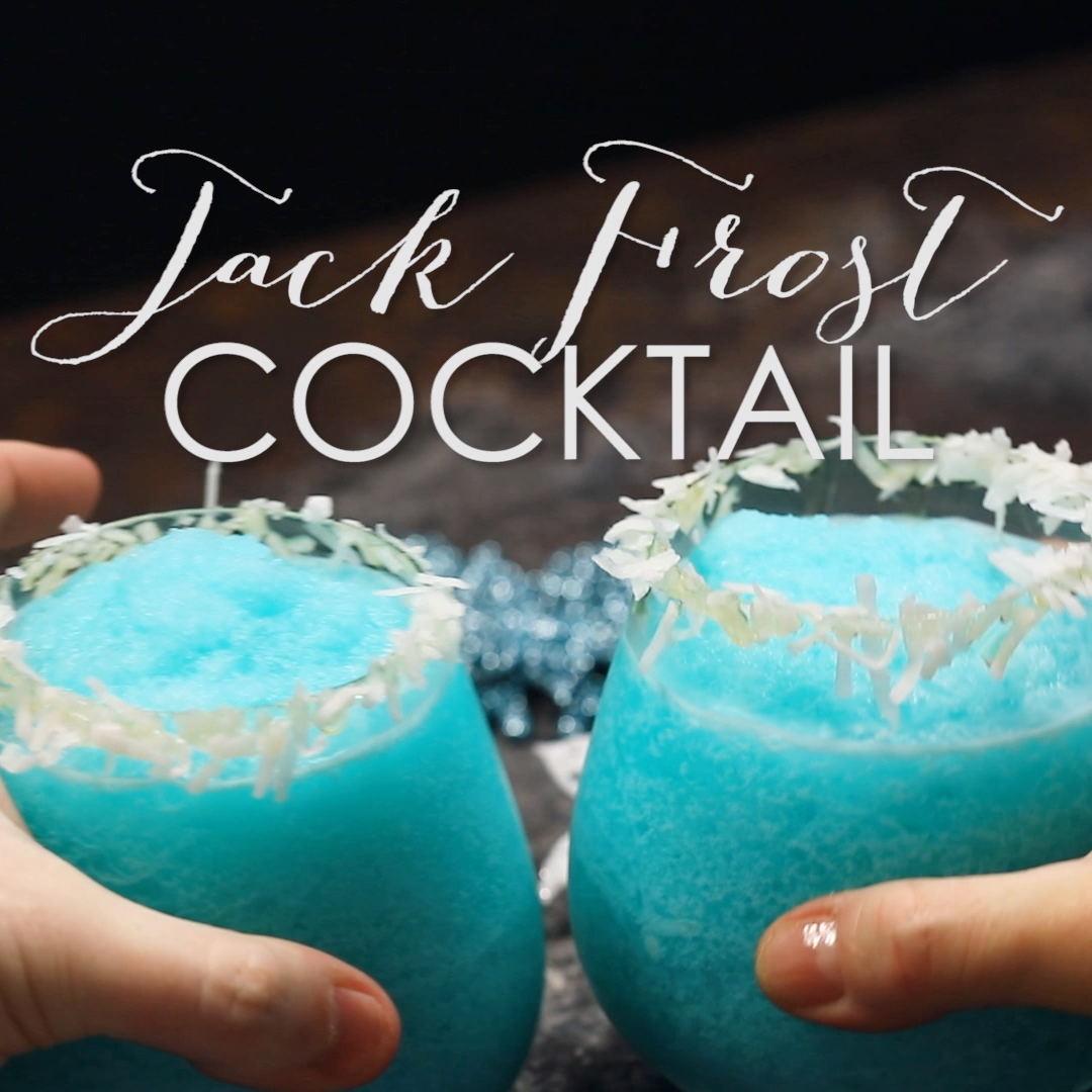 Jack Frost Cocktail #blue