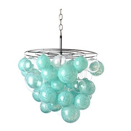 Glass ball chandelier pinterest chandeliers lights and outdoor change it up for each seasonholiday aloadofball Image collections