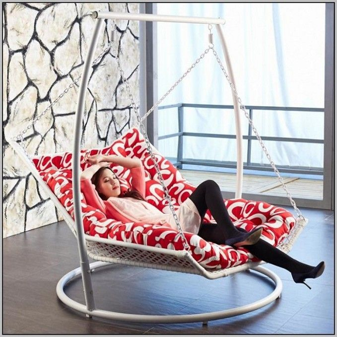 Swing Chair With Stand Outdoor Scoop Dining Chairs 15 Inexpensive Diy Hammock Tutorial Guide Bed