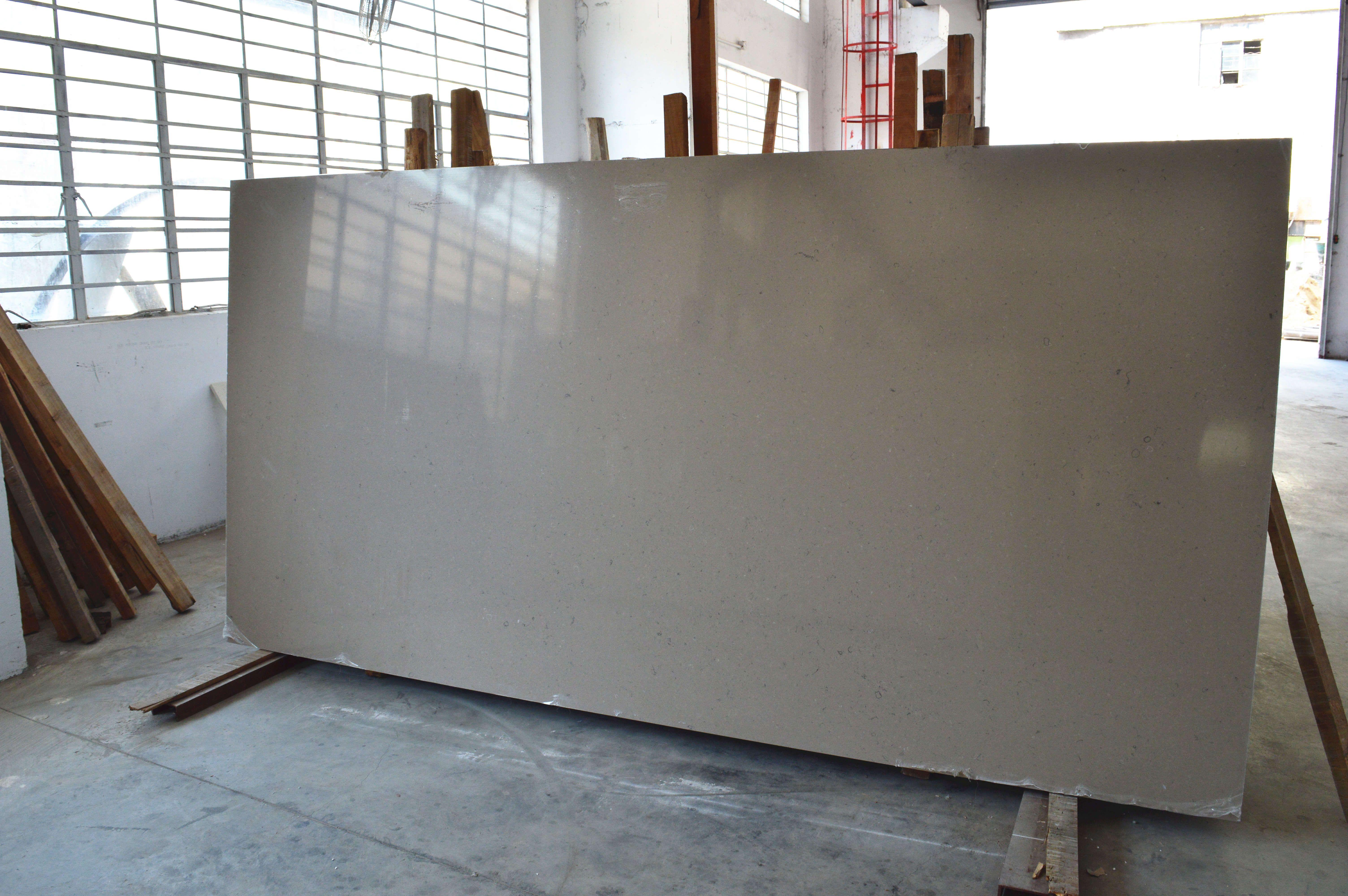 Quartz Slab Countertops P57 Shiitake