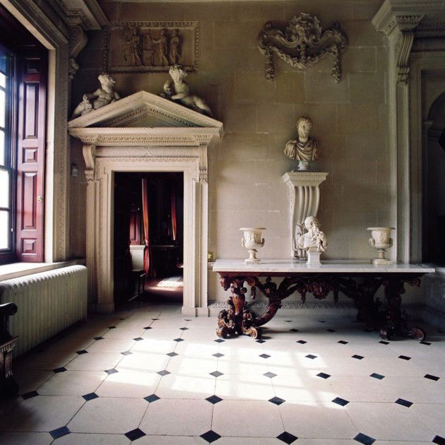 William Kent took charge of the interiors at Houghton Hall in