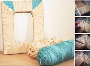 Rosely Pignataro: Reciclando fios de lã...