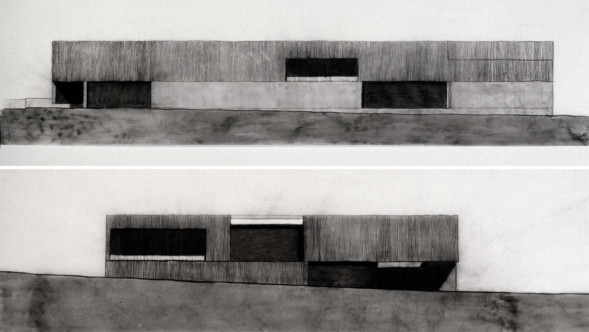 Contemporary Art Museum, St. Louis Sketch 10 Art