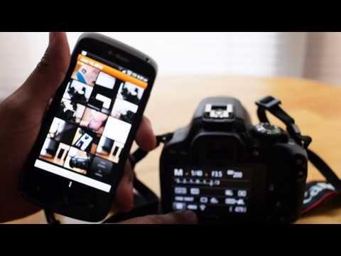 EyeFi Mobi Video Demo by The Phoblographer - YouTube