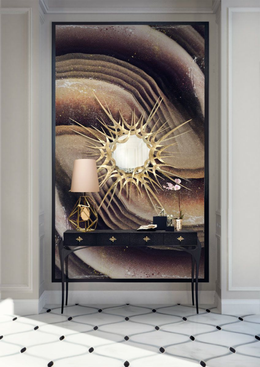 Luxury hallway furniture  Fun and Creative Ideas of Wall Mirrors in the Hallway  funky rooms
