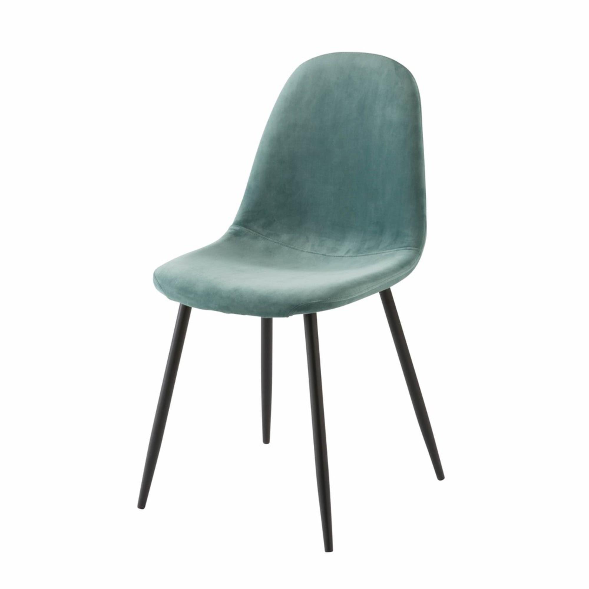 Skandinavischer Stuhl Altrosa Samtbezug In 2020 Skandinavische Stuhle Stuhle Und Skandinavische Esszimmerstuhle