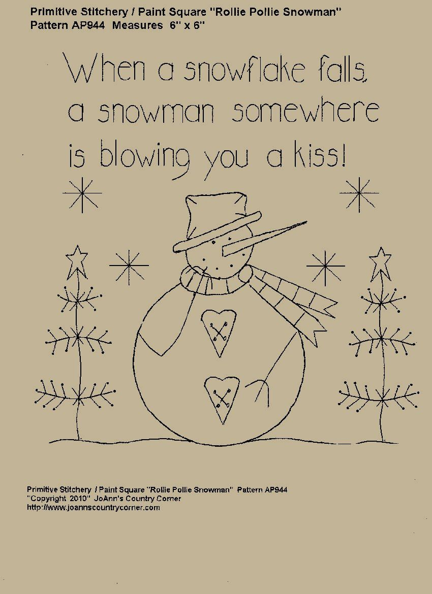 When a snowflake falls, a snowman somewhere is blowing you a kiss ...