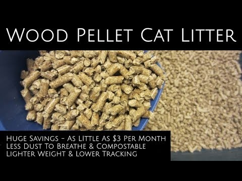 (68) Cheap Pellet Cat Litter Save Big & Breathe Easier