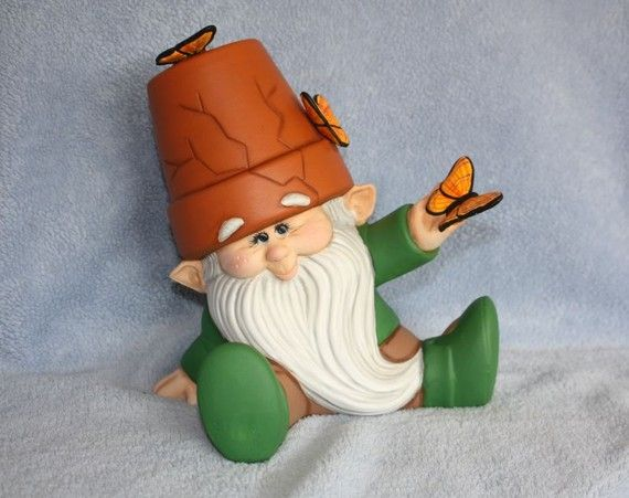 Ceramic Crackpot Garden Gnome - http://www.etsy.com/listing/69727822/reserved-for-amanda-handpainted-ceramic?ref=sr_gallery_24_ref=auto3_search_query=garden+gnome_view_type=gallery_ship_to=US_search_type=all