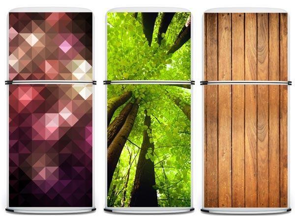 Appliance Magnetic Refrigerator Skin | ... Your Boring Fridges With Giant  Designer Magnets |