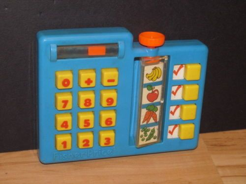 Fisher Price Vintage Fun With Food 1984 Grocery Shopping List