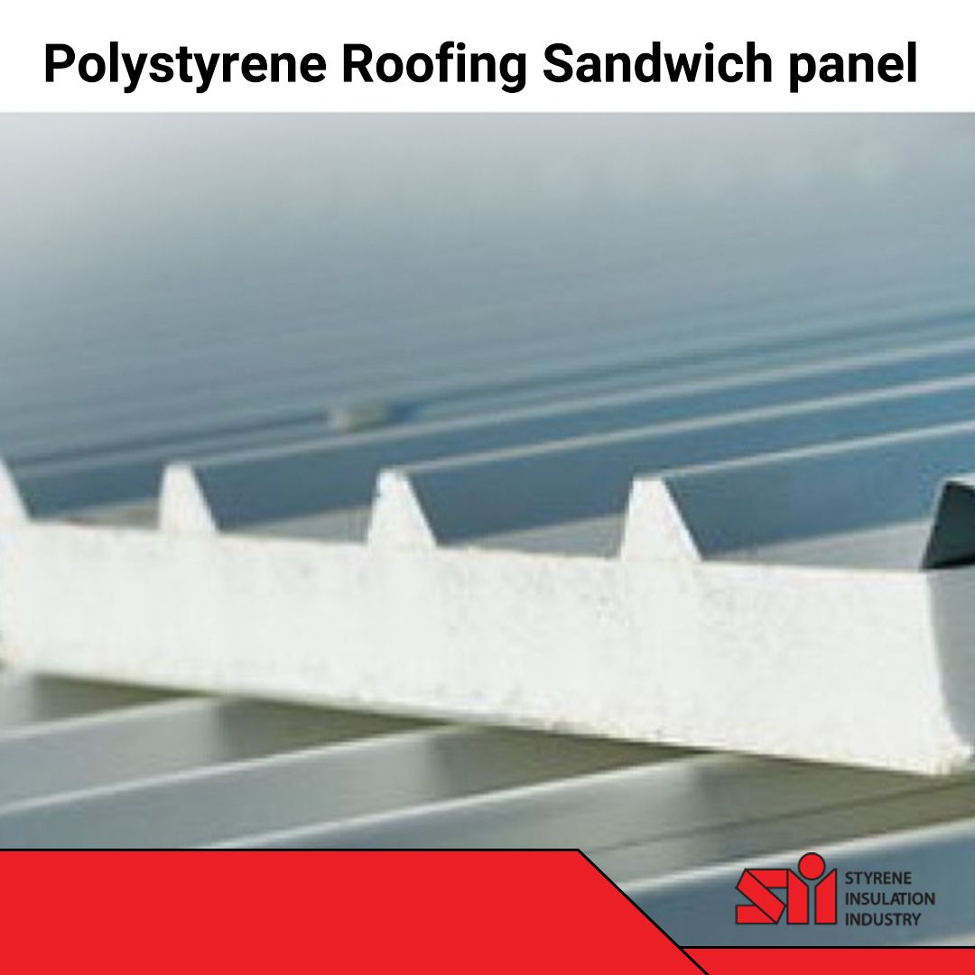 Polystyrene Roofing Sandwich Panel In 2020 Roofing Thermal Efficiency Roof Construction