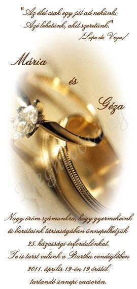 lope de vega idézetek Pausz rátétes meghívó házassági évfordulóra   Pearl earrings