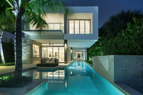 Biscayne Bay Residence, Miami, 2012 - [@strangarch] Miami #pool