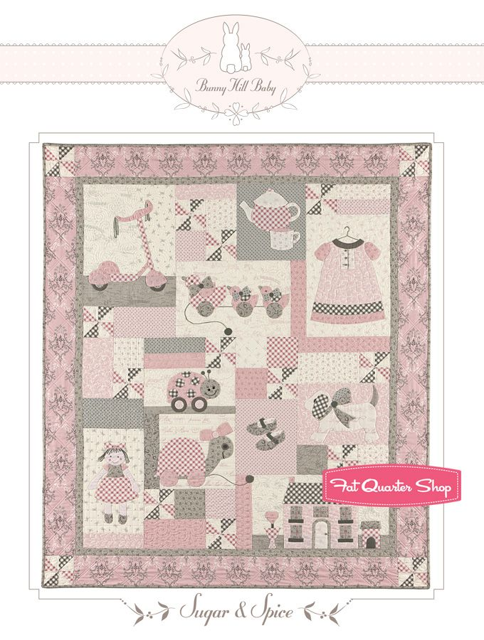 FABRIC Moda QUILT KIT ~ KINDRED SPIRITS ~ by Bunny Hill Designs