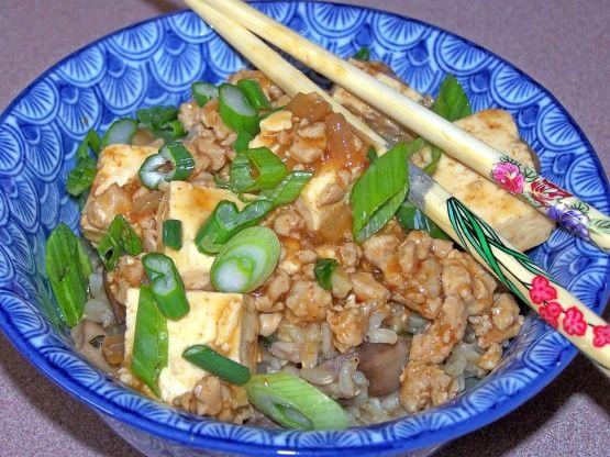 Ma Po Tofu From Cooking Light) Recipe - Food.com