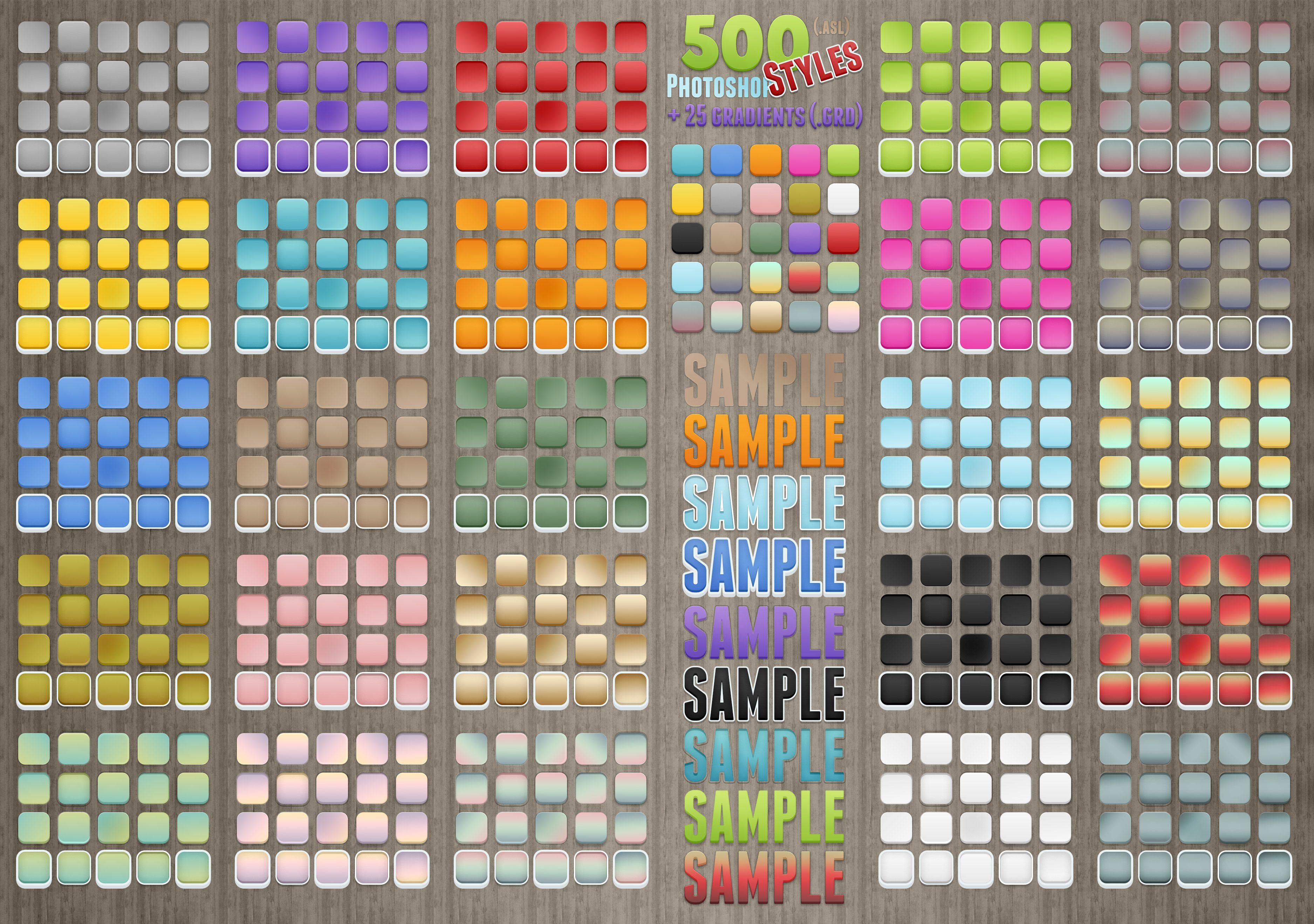 Download 500 Photoshop Styles by survivorcz   Photoshop styles ...