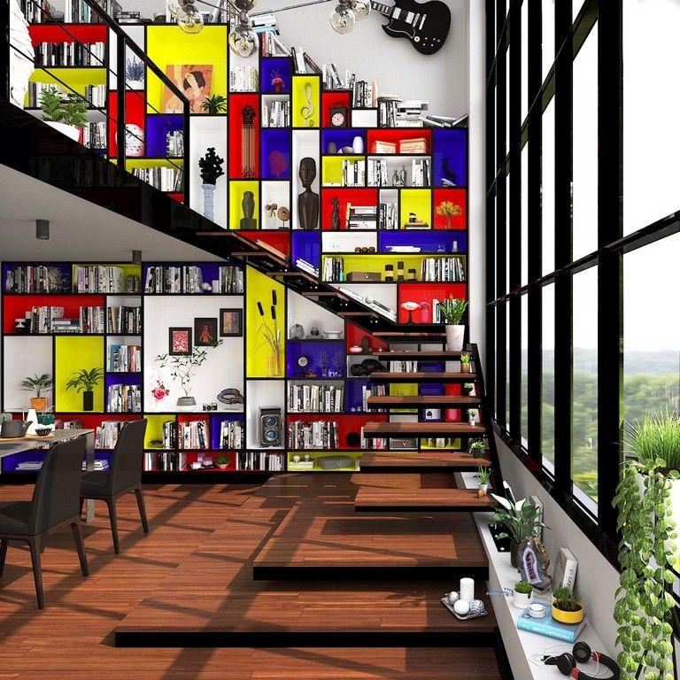 50+ Piet Mondrian Inspired Amazing Interior Design Ideas