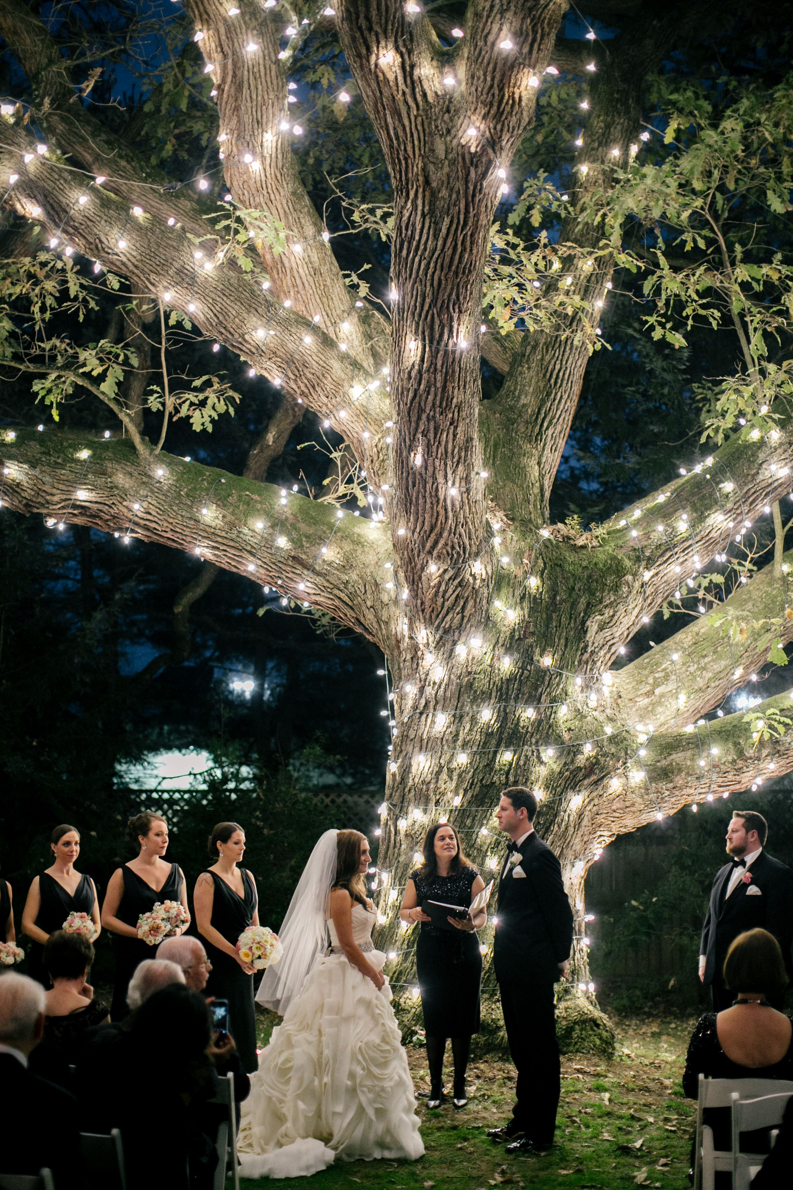 Magical Agust Night Under Giant Oak >> A Magical Romantic Wedding At Aldie Mansion In Doylestown