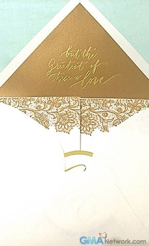 this just in chiz and heart s wedding invitation gmanetwork com