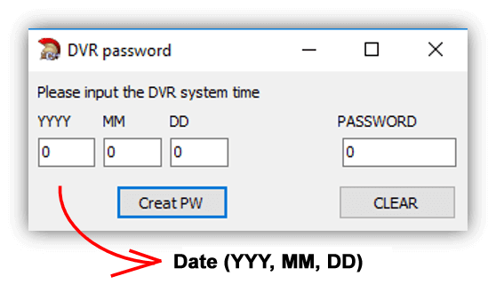 How to reset H 264 Network DVR (for lost password) by | CCTV