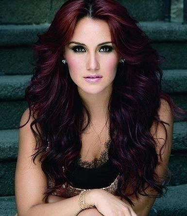 Dark Brown Hair With Purple Undertones - 28.7KB