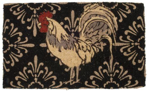 Now Designs Doormat, Roosters By Now Designs. $19.99. Lower Pile Means  Doormat Fits Neatly Under Swinging Screens And Doors. Doormat Measures  18 Inch Wide ...