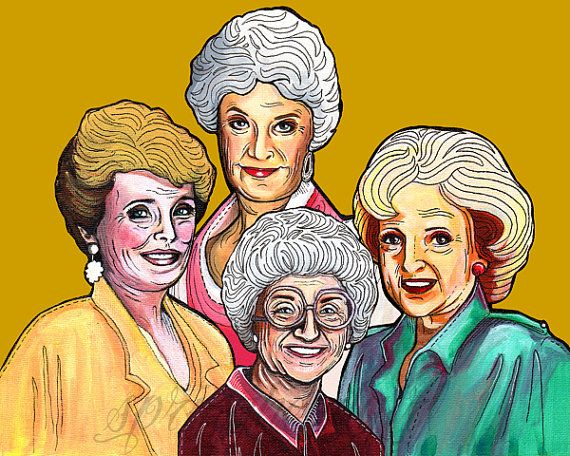 Golden Girls Rue Mcclanahan Bea Arthur Betty White Estelle