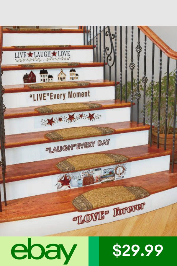 Best Decals Stickers Vinyl Art Home Garden Ebay Stair 400 x 300