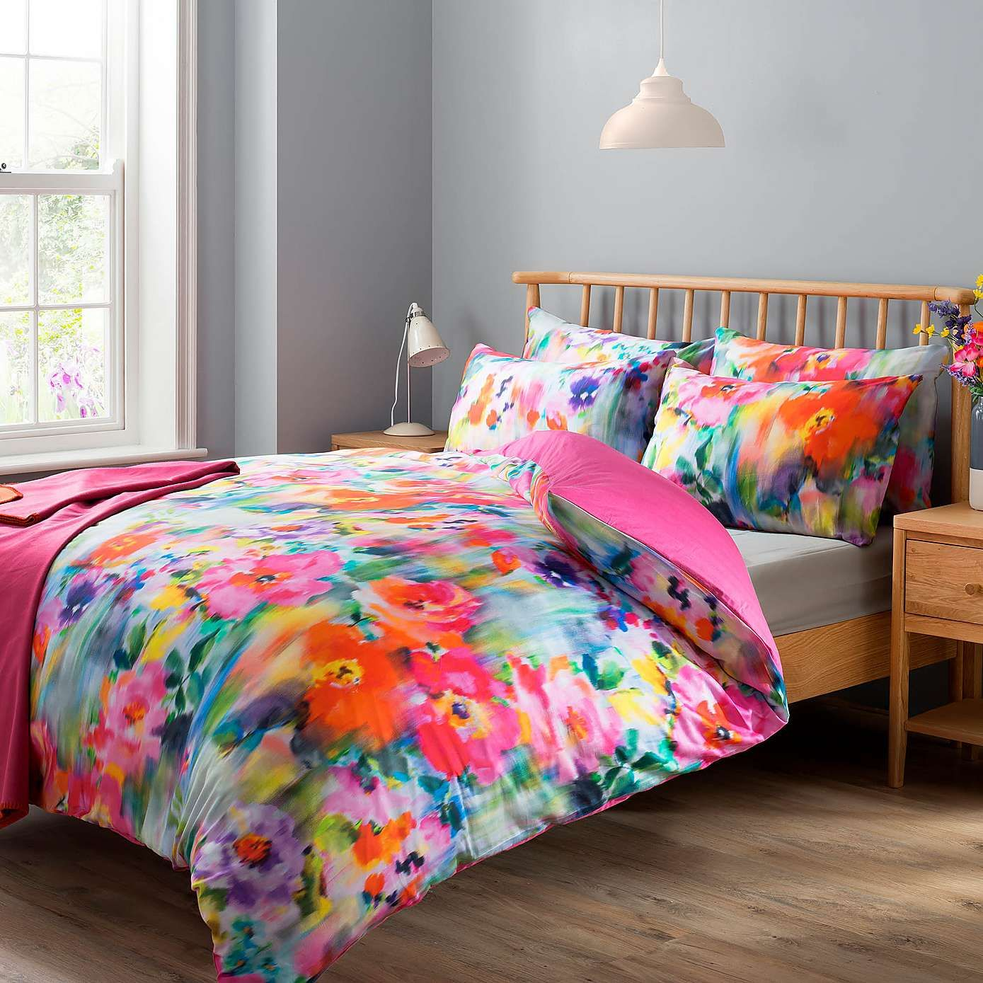 Summer Digitally Printed 100 Cotton Duvet Cover and