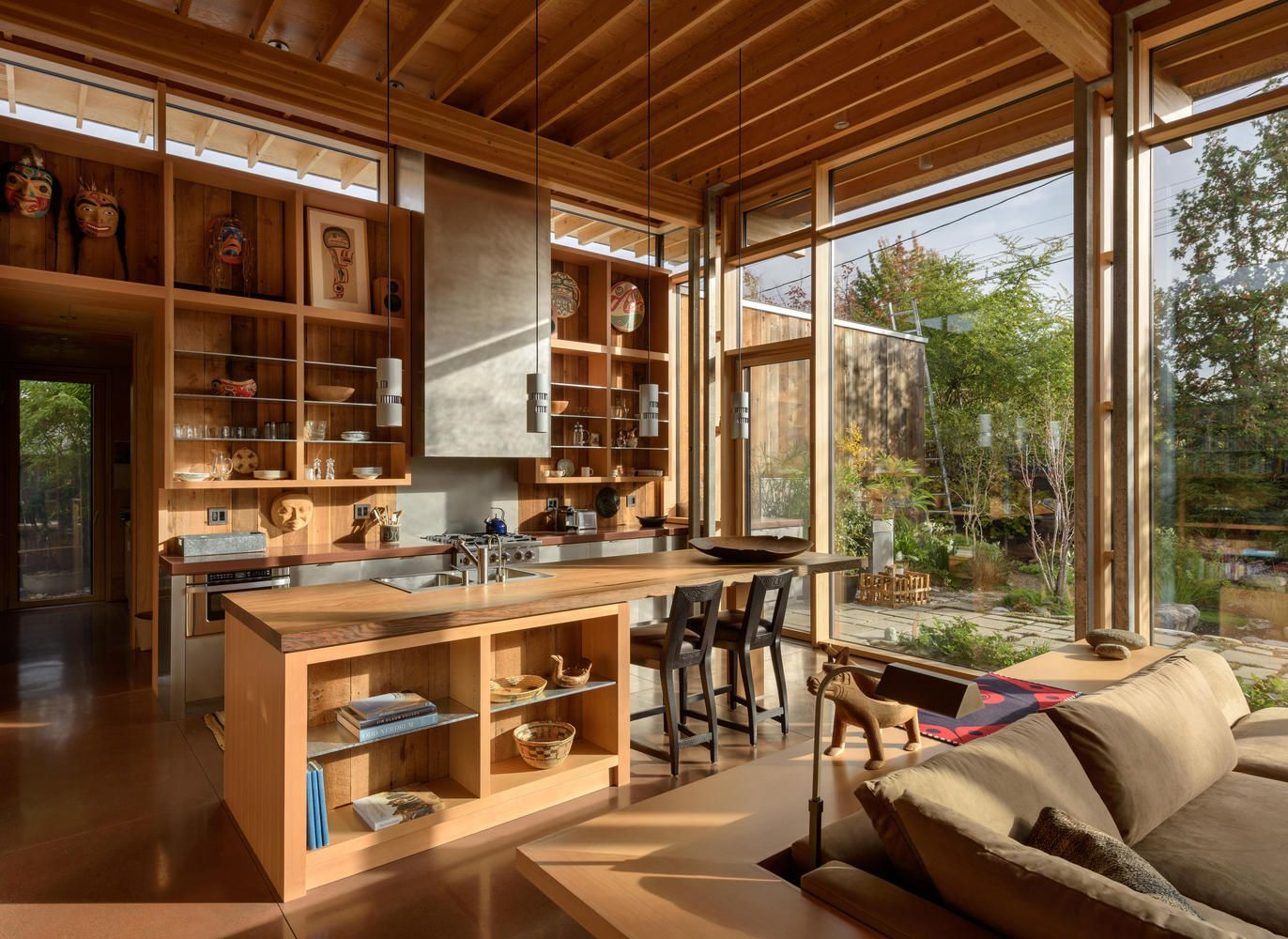 City cabin olson kundig house and home magazine home design decor modern house
