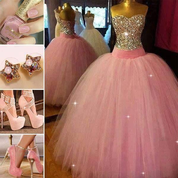 Vestidos de xv a os con detalles en tul cinderella sweet 16 for Cubre sillas para 15 anos