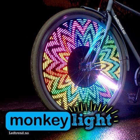 Sykkelhjul Med Led Lys Lys Opp Ditt Sykkelhjul Sykkelhjul