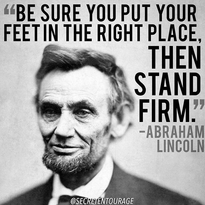 10 Brilliant Motivational Quotes I Truly Believe In: Love This Quote From Lincoln. Many People In Your Life