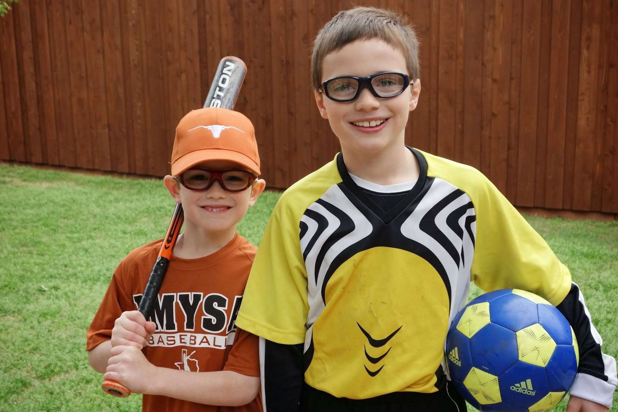 Soccer and baseball! Play hard & safe with Rec Specs! www.libertysport.com