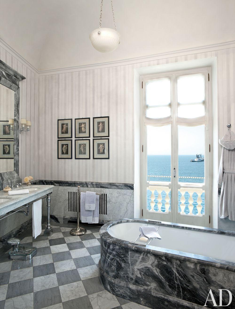 Traditional Bathroom By Studio Peregalli In Naples Italy