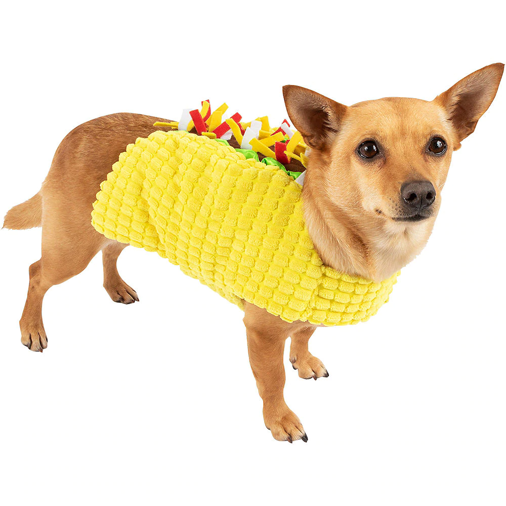 Casual Canine TACO Dog Halloween Costume S, M, L | eBay |Taco Dog Halloween Costume Pattern